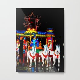 The First Emperor's Procession Metal Print