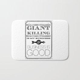 Giant Killing is My Business... Bath Mat