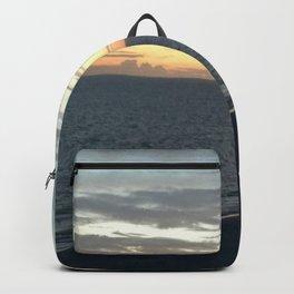 Beach Sunset Backpack