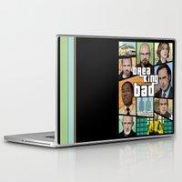 gta Laptop & iPad Skins featuring Breaking Bad GTA HD  by Akyanyme