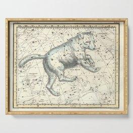 Celestial Atlas Plate 6 Alexander Jamieson, Ursa Major Big Dipper Serving Tray