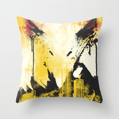 Eagle Eye Watching Throw Pillow