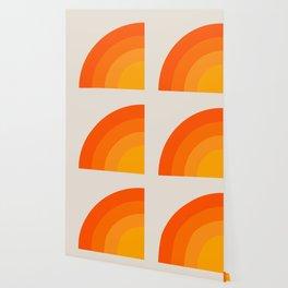 Sunrise Rainbow - Left Side Wallpaper