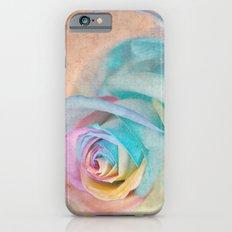 Rainbow rose Slim Case iPhone 6s