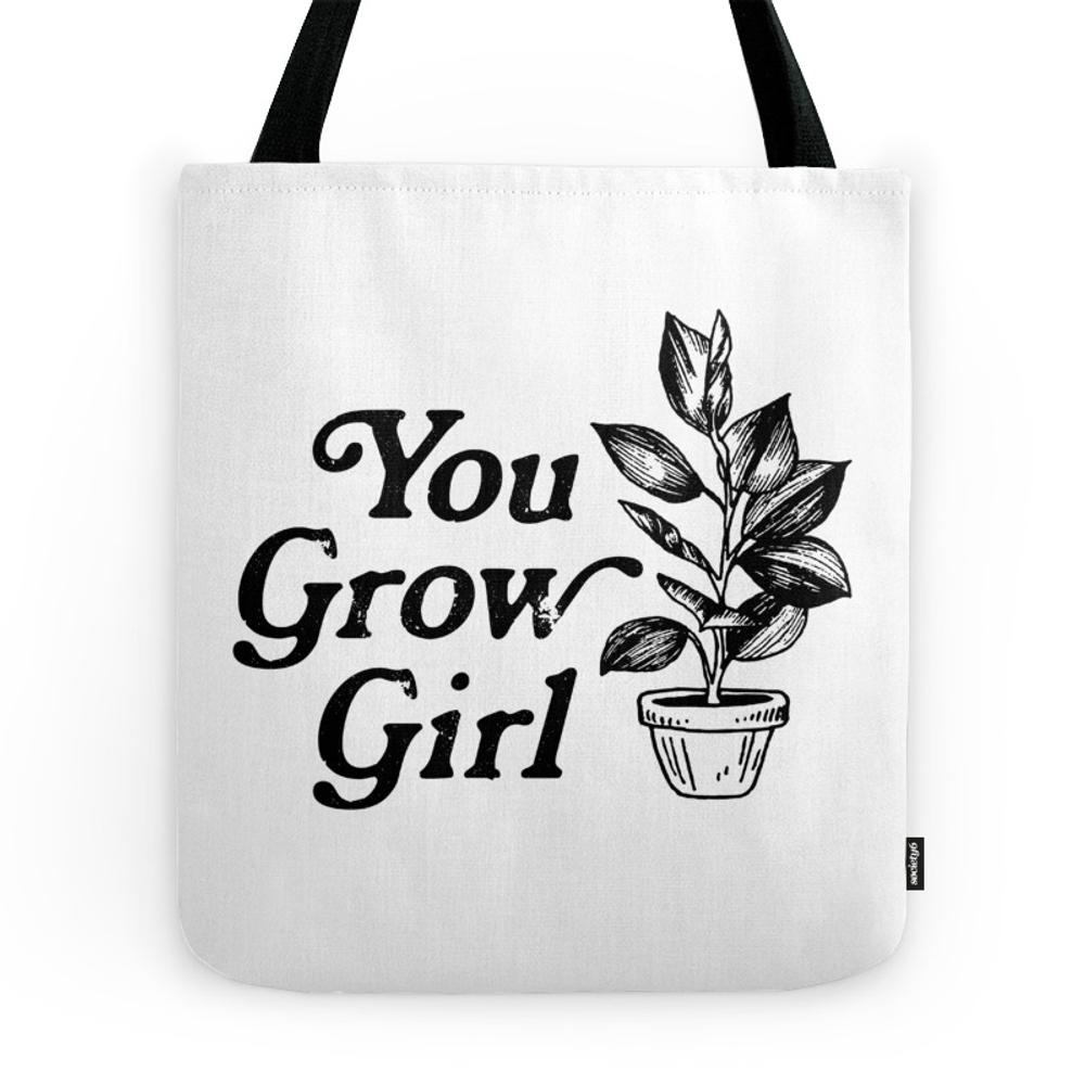 You Grow Girl Tote Purse by movemtns (TBG10380298) photo