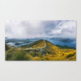 Roys Peak - Wanaka Canvas Print