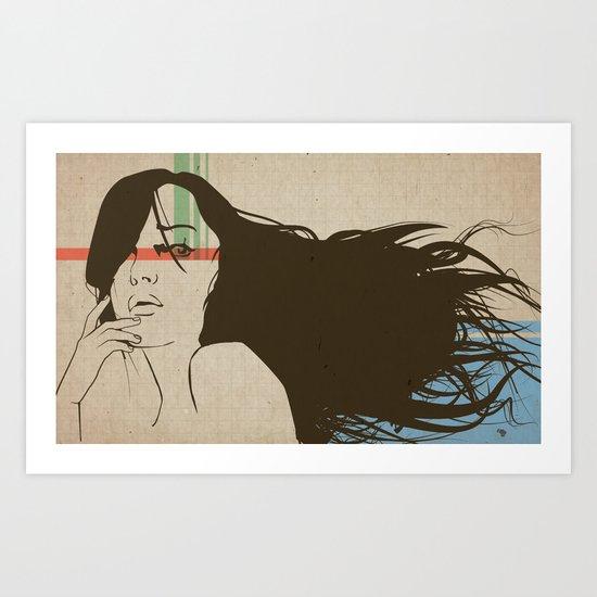 Breaker Art Print