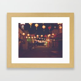 L.A. Chinatown Framed Art Print