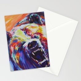 Mama Bear or Don't mess with my kid! Stationery Cards