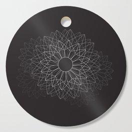 Spiral #abstract #dark Cutting Board