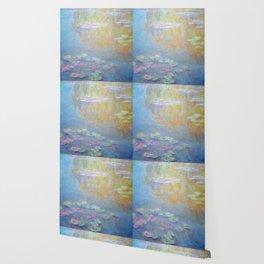 Monet water lilies 1908 Wallpaper