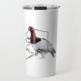 Alaska – Willow Ptarmigan Travel Mug