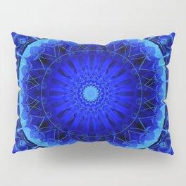 Mandala blue force Pillow Sham