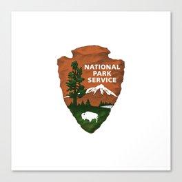 National Park Canvas Print