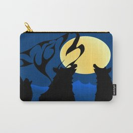 """""""Wolves Among Us' Carry-All Pouch"""