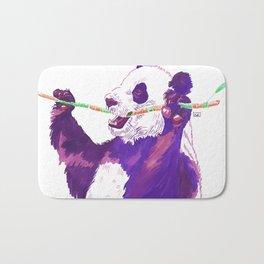 Purple Panda Bath Mat