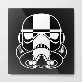 Skunk Trooper Metal Print