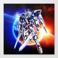 gundam Canvas Prints featuring Gundam Wing by bimorecreative