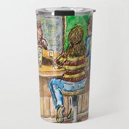 A Night At Point Ybel Travel Mug