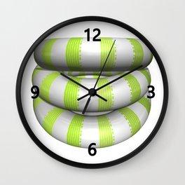 Donuts Trio Wall Clock