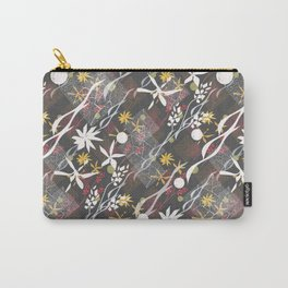 Flower ornament Carry-All Pouch