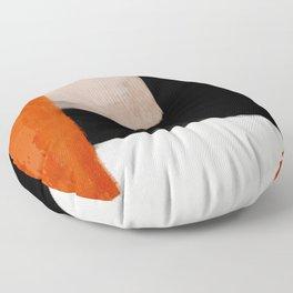 abstract minimal 14 Floor Pillow