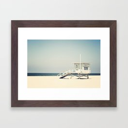 Hermosa Beach  Framed Art Print