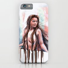 Beside the Wall She Stood Slim Case iPhone 6s