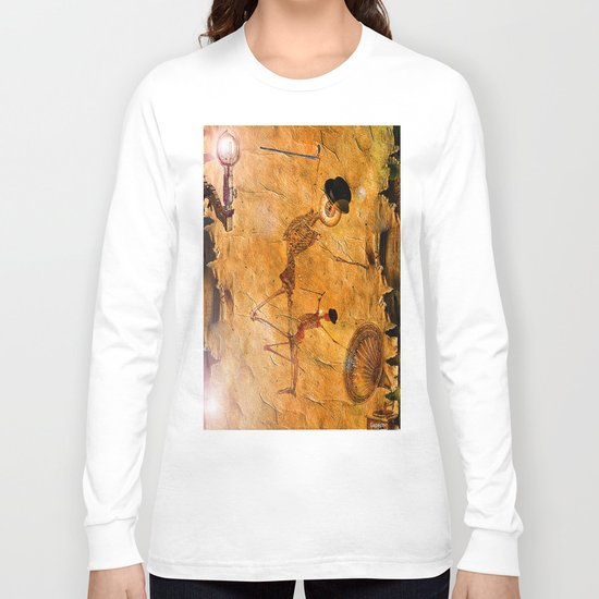Monsieur Bone et le Music Hall  Long Sleeve T-shirt