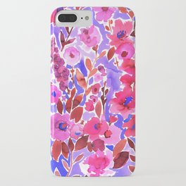 Isla Floral Purple iPhone Case