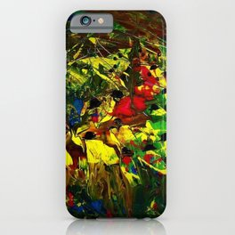 Indigenous Inca People of the Peruvian highlands of Machu Picchu landscape painting by Ortega Maila iPhone Case