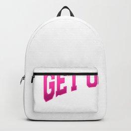 Gymnastic Girl Get over Gymnast Daughter Artistic Backpack
