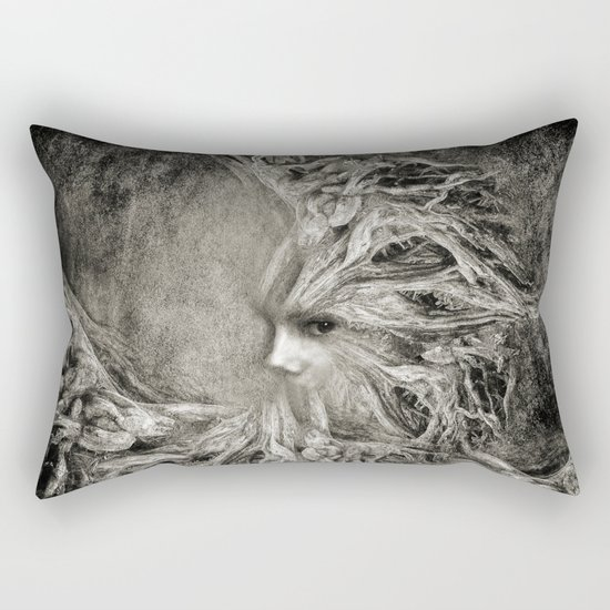 Greek goddess Gaia. Rectangular Pillow