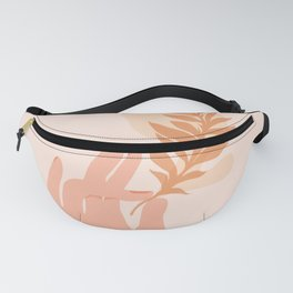 Abstraction_NAMASTE_LOVE_Minimalism_001 Fanny Pack