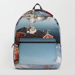 reine at lofoten Backpack