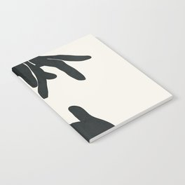 Abstract Hands Notebook