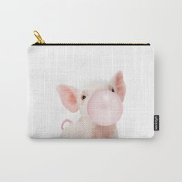 Bubble Gum Baby Pig Carry-All Pouch