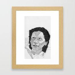 Seth Brundle / Brundlefly. Framed Art Print