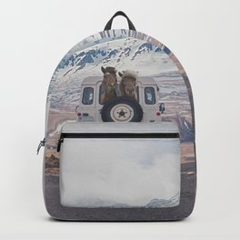 NEVER STOP EXPLORING ICELAND Backpack