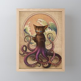 Octopussy Framed Mini Art Print