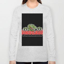 dinosaur mascot. Long Sleeve T-shirt