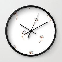 Cotton pattern Wall Clock