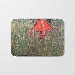 Rough Road - Use At Own Risk Bath Mat