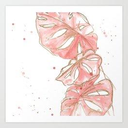 Tropical Twist I Art Print