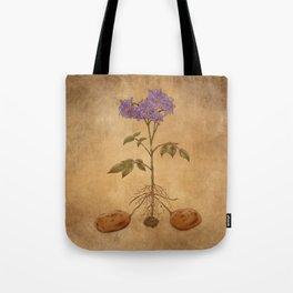 Anatomy of a Potato Plant Tote Bag