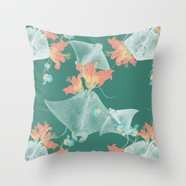 Lilies that sting Throw Pillow