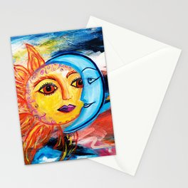 Sun and Moon United Stationery Cards