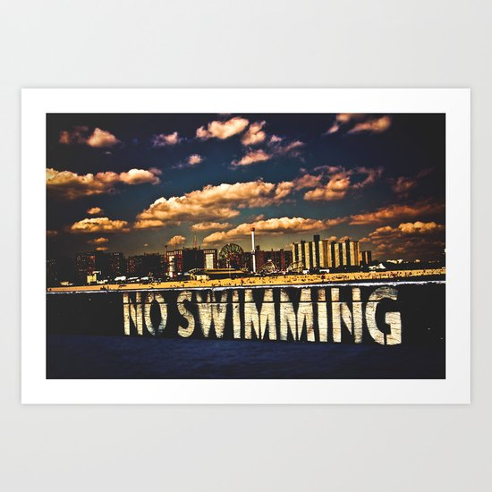 That Sinking Feeling Art Print