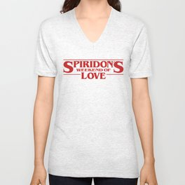 Spiridon's Weekend of Love 2016 plain Unisex V-Neck