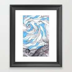 Whirlwind Framed Art Print